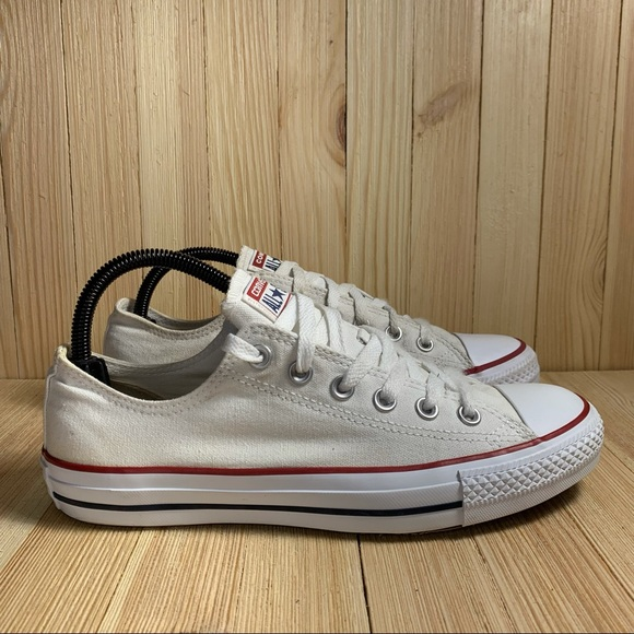 Converse All Star Chuck Taylor Low Top White Shoes